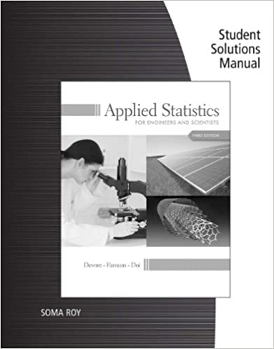 Student solutions manual for devorefarnumdois applied student solutions manual for devorefarnumdois applied statistics for engineers and scientists 3rd 3rd edition kindle edition fandeluxe Gallery