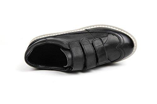Velcro Weiße Kleine Weiße Herbst Damenschuhe Leder Mode Sommer Freizeitschuhe Damen Schuhe Schuhe Flache 0gqP6H