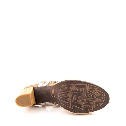 FelminiSerena 9451 - Sandalias de Punta Descubierta Mujer Beige - beige