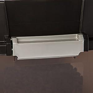 IRIS Large Elevated Feeder with Airtight Storage, Black