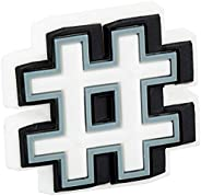 Charms Para Calçados Hashtag, Crocs, Adulto Unissex