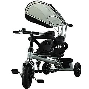 ZQY Triciclo Infantil 4 En 1 Triciclo para Niños Andador De ...