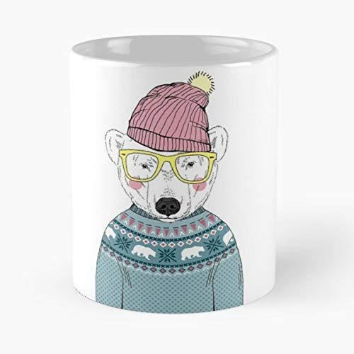 Anthropomorphic Furry Art Animal Head Human Body - Best Gift Ceramic Coffee Mugs 11 Oz