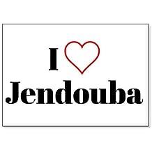 I Love Jendouba, fridge magnet (design 2)