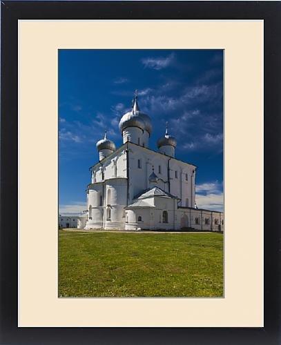 Framed Print of Russia, Novgorod Oblast, Veliky Novgorod, Saint Varlaam Convent by Fine Art Storehouse