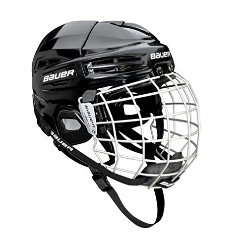 Bauer Ims 5.0 Ii Hockey Helmet/Mask Combo Black L (Best Youth Hockey Helmet)