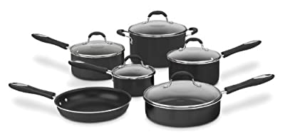 Cuisinart 55-11 Advantage Non-Stick 11-Piece Cookware Set
