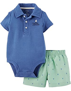 Carter's Baby Boys' 2 Piece Short Set (Baby)
