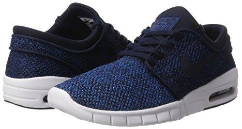 SB Stefan Janoski Industrail 444 Blue Obsidian Shoes Nike Max Men's qpfwOqdg