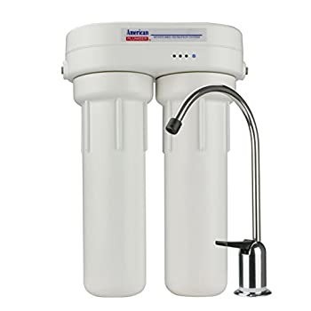 Image of American Plumber WLCS-1000 Under-Sink Water Filter System Home and Kitchen