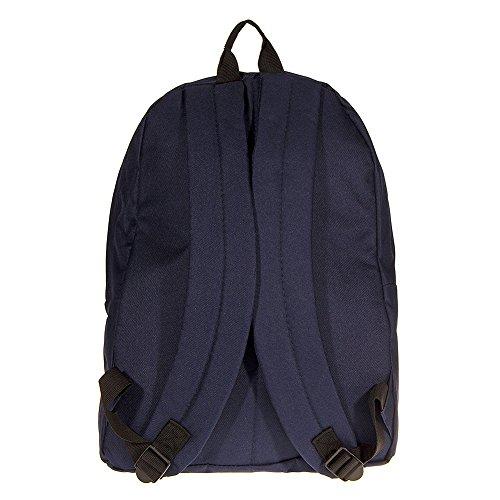 Hype Unisex Plain Navy Rucksack/Backpack BACK TO SCHOOL