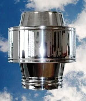 Blindocom - Gorro antiviento, aspirador de humos, activador de tiro de humos: Amazon.es: Bricolaje y herramientas