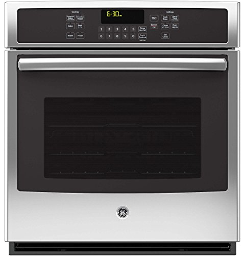 GE JK5000SFSS 27″ Stainless Steel Electric Single Wall Oven – Convection