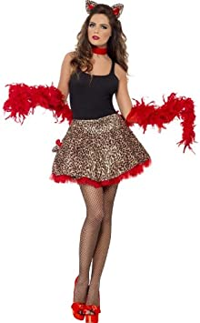 Smiffys - Disfraz de gatita para mujer, talla única (22871 ...