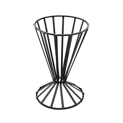 American Metalcraft Basket (American Metalcraft FWB4 Wrought Iron Slanted French Fry Basket, Black)