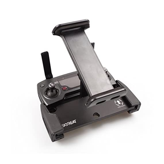 Skyreat-Mavic-Air-Pro-Foldable-Aluminum-Metal-4-inchs-to-12-inchs-Ipad-Tablet-Mount-Holder-for-DJI-Mavic-2-Pro-Mavic-2-ZoomMavic-ProMavic-Air-DJI-Spark-Accessories-Remote-Controller
