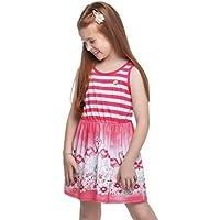 Vestido Infantil Menina Rosa - Elian