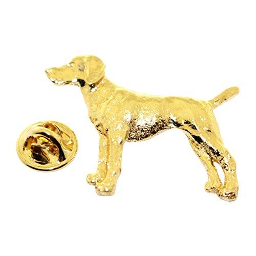 Vizsla Pin (Vizsla Pin ~ 24K Gold ~ Lapel Pin ~ Sarah's Treats & Treasures)