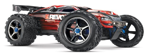 Traxxas E-Revo 4WD Monster Truck (Brushless Edition), 1:10 Scale