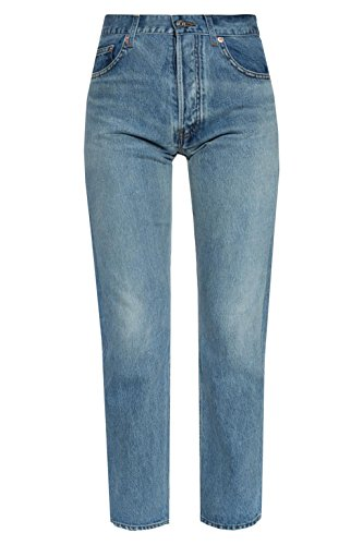 Balenciaga Women's 493468TXE054065 Blue Cotton Jeans