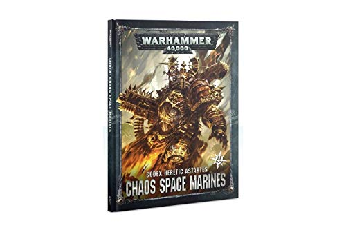 Games Workshop Warhammer 40,000: Codex: Chaos Space Marines 2 Hardcover from Games Workshop