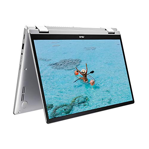 ASUS ZenBook Flip UM462DA Full HD 14″ Touchscreen Laptop (AMD Ryzen 5 3500U, 8GB RAM, 256 GB PCIe SSD, LED-NumberPad Windows 10) – Includes Styles and Carry Sleeve, Grey