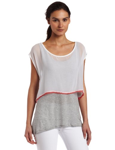 UPC 885828859432, Ella Moss Women's Prima Donna Top, Heather Grey, Small