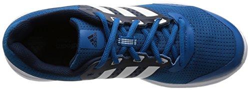 Adidas Uomini Duramo 7 Scarpe Da Corsa, Grigio-blu (unità Blu / Ftwr Bianco / Navy Collegiale)
