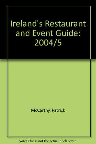 Ireland's Restaurant and Event Guide: 2004/5 (Portside Dining)