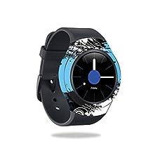 MightySkins Protective Vinyl Skin Decal for Samsung Gear S2 3G Smart Watch cover wrap sticker skins Hip Splatter