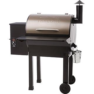 "Traeger Pellet Grills BAC362 Folding Shelf, 25"" L x 12"" W, Black"