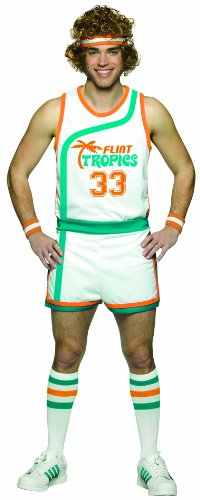 Rasta Imposta Semi Pro Uniform Costume, Multi-Colored, One Size