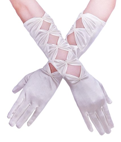 vintage white gloves - 5