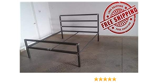 Miraculous Tall Headboard Style Metal Bed Frame Twin Full Queen King Beatyapartments Chair Design Images Beatyapartmentscom