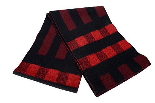 Burberry Unisex Cashmere Wool Plaid Scarf