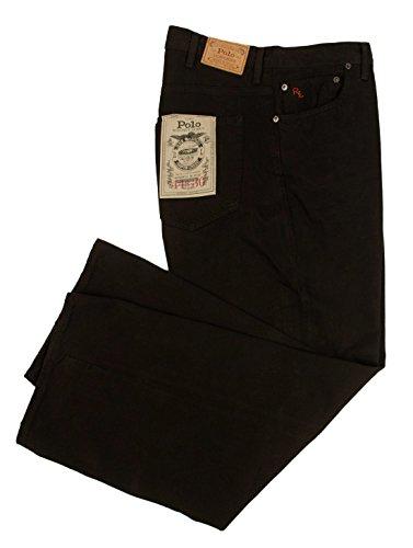 Ralph Lauren Men's Big and Tall Hampton Straight Jeans Pa...