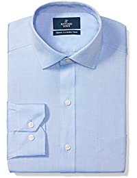 Men's Tailored Fit Solid Non-Iron Dress Shirt