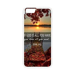 """Custom New Cover Case for Iphone6 Plus 5.5"""", John Quotations Phone Case - HL-700898"""
