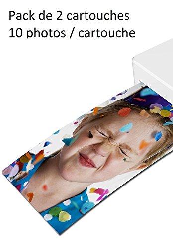 Recarga para impresora de bolsillo Polaroid: Amazon.es: Electrónica