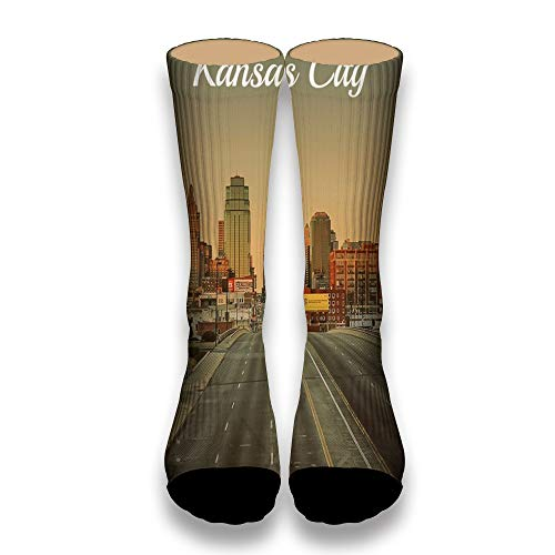 (Kansas City Bridge Tube Socks Cool Street Socks Hip Hop Street Professional Skateboard Sports Men Women Socks)