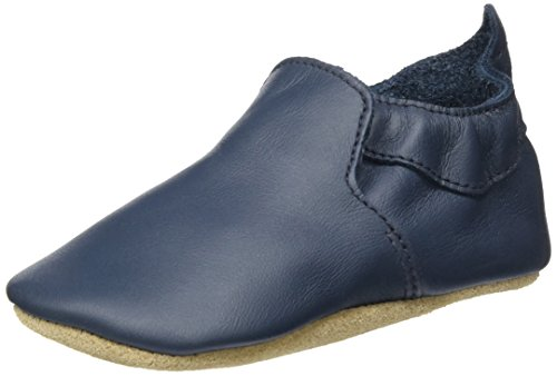 Bobux Unisex Baby Vogue Blau Slipper Blau (Navy)