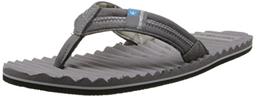 Freewaters Mens Scamp Vippan Sandal Mörkgrå
