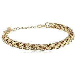 "Signature 1928 ""Collection"" Gold-Tone Small Chain Bracelet"