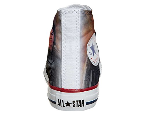 Chaussures Converse All Star Personnalisées (chaussures Artisanales) The King Of Rock