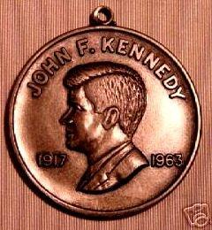 - Vintage Robert & John F Kennedy Memorial Medal/Pendant