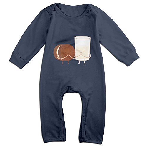 Cotton Chocolates And Milk Baby Climb Clothes Romper