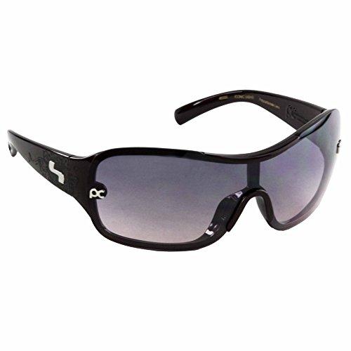 Burgundy Gradient Lens (Sundog Iconic Sunglasses, Burgundy Frame/Gradient Smoke Lens)