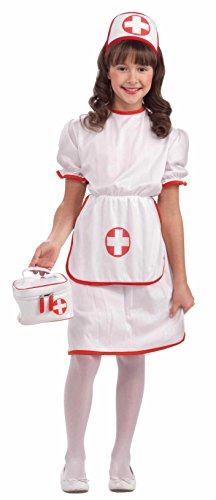 Forum Novelties Classic White Nurse Costume, Child -