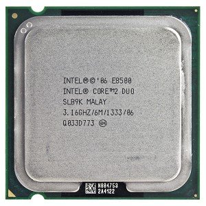 Intel 775 Dual Core Support - Intel Core 2 Duo E8500 3.16GHz 1333MHz 6MB Socket 775 Dual-Core CPU