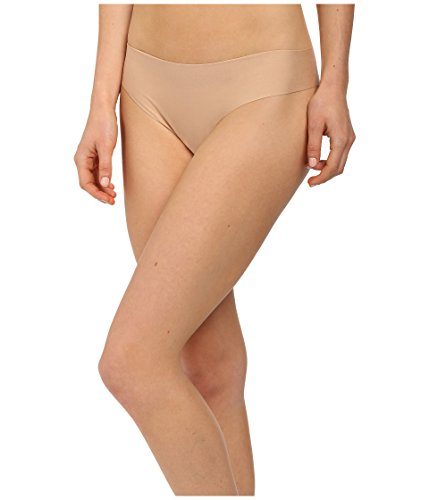 (commando Women's Butter Mid Rise Thong, Nude, Tan,)